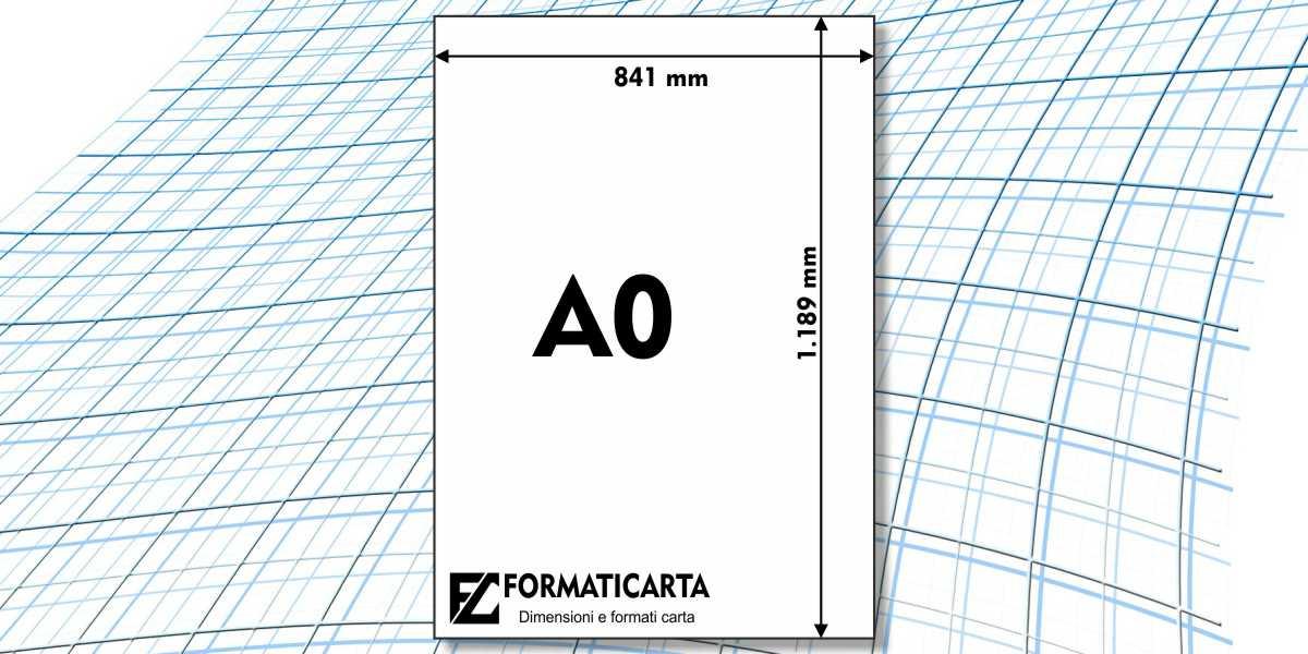 Dimensioni Foglio A0