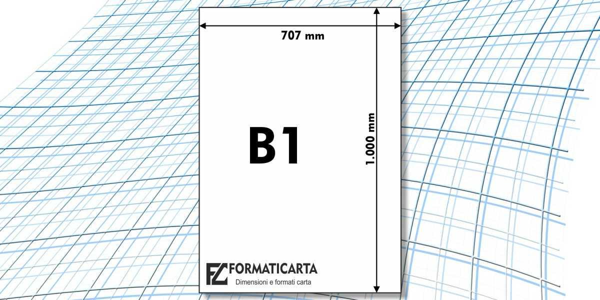 Dimensioni Foglio B1