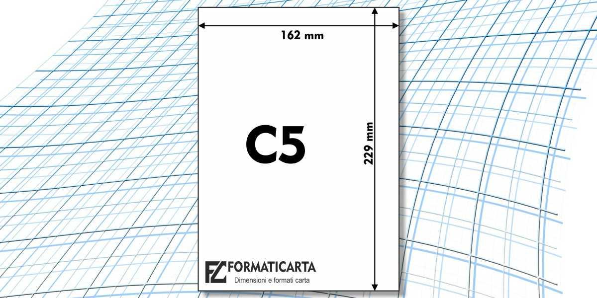 Dimensioni Foglio C5